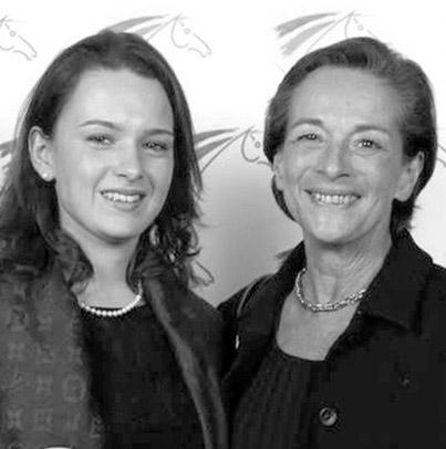 Marina Caplain Saint André & Alix Van Den Berghe