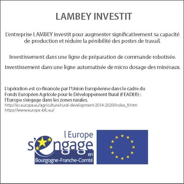 Lambey investit